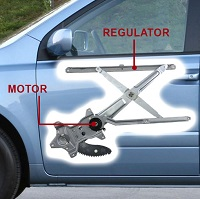 Car Window Regulator Repair
